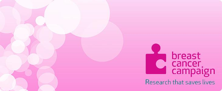 Breast Cancer Campaign logo, pink background