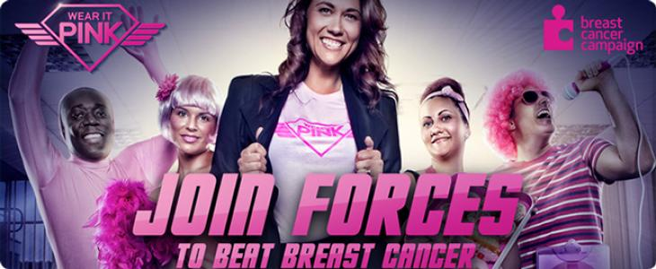 Breast Cancer Campaign - Wear It Pink Friday